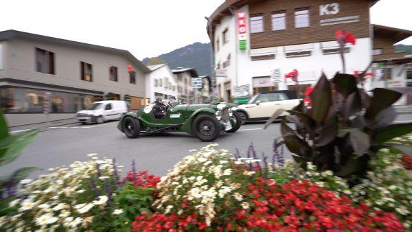 Oldtimerfest auf den Alpenstraßen