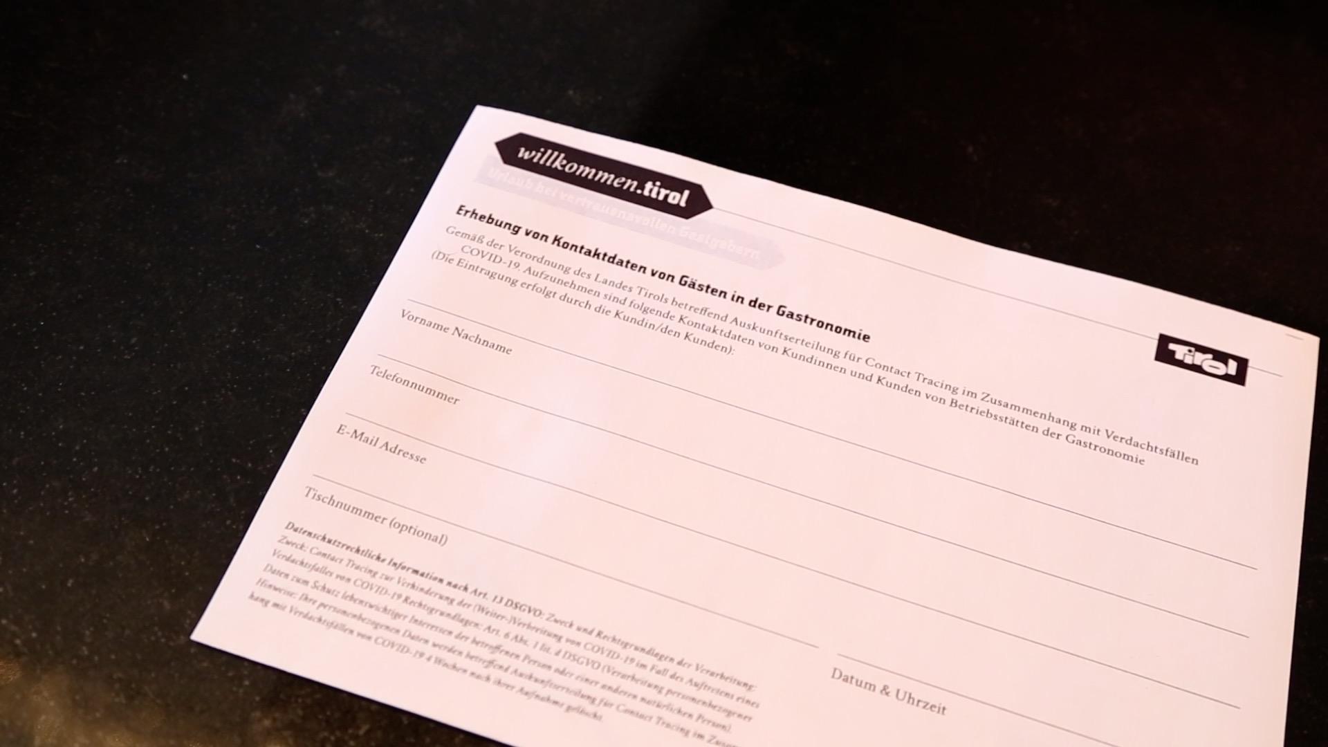 Stimmen zur Registrierungspflicht