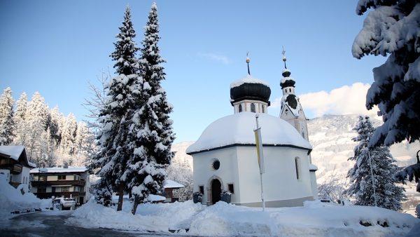 Kleine Wallfahrtskirche im Zillertal