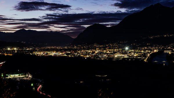 Innsbruck erstrahlt in neuem Licht
