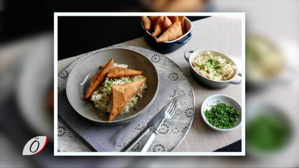Kochtipp: Hasenöhrl mit Chili-Rahm-Sauerkraut