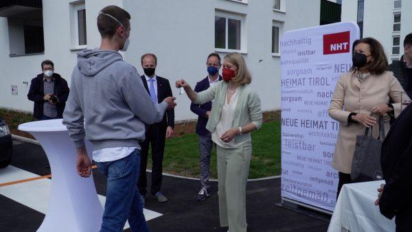 NHT vergibt 142 neue Wohnungen in Pradl