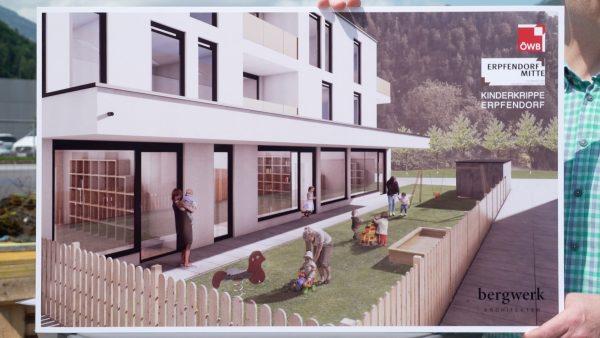 Baustart für das Bauprojekt in Erpfendorf