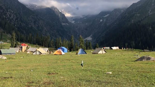 Campen am Berg ist illegal