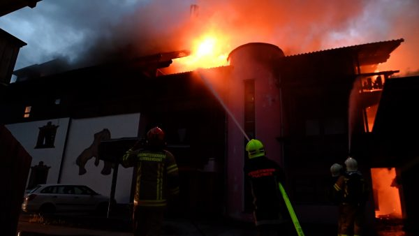Brand in Mieders