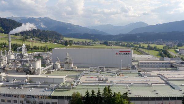 Egger Gruppe mit über 3 Milliarden Euro Umsatz.