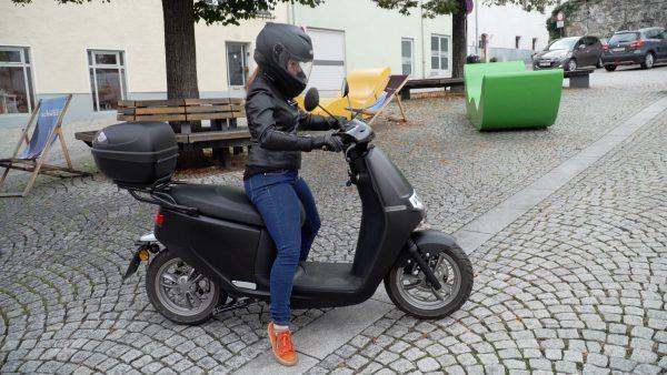 Umweltschutz mit E-Mopeds