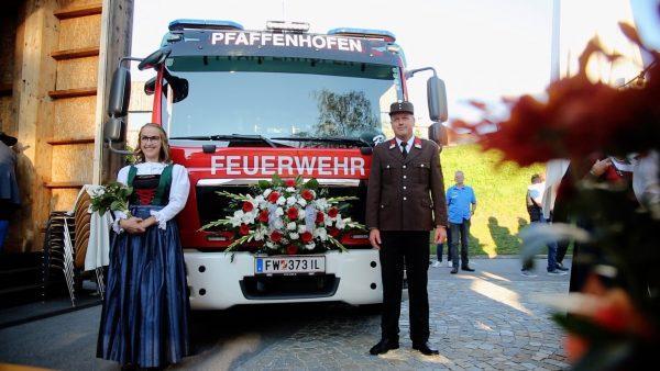 Neues Löschfahrzeug für die FF Pfaffenhofen