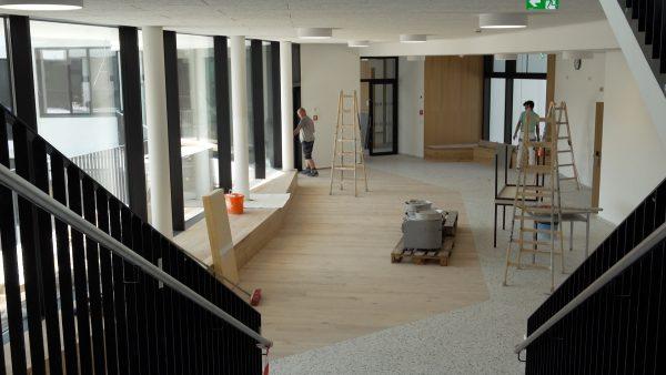 Gymnasium Sillgasse präsentiert sich im Neubau