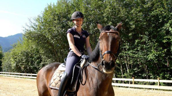 Das Glück am Pferde Rücken: Strobl bei Paralympics