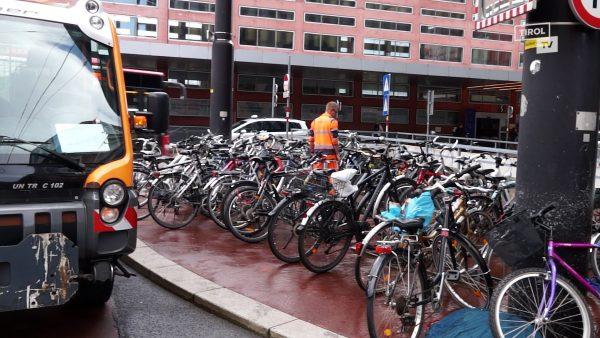 Fahrradsammelaktion der Stadt